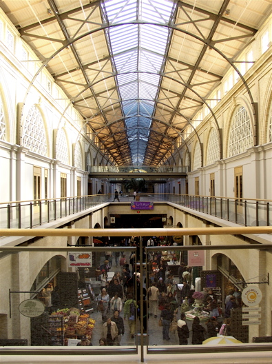 Photo - Inside the renovated San Francisco Ferry Building Marketplace
