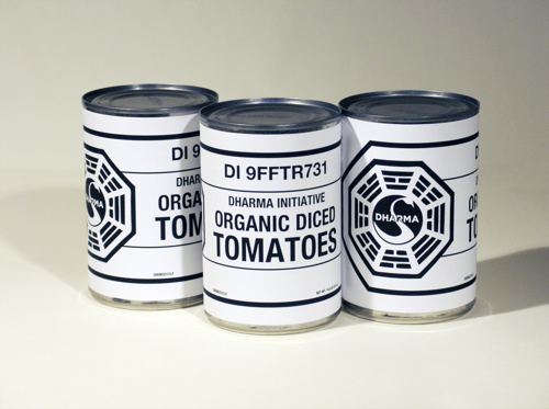 DHARMA Initiative Diced Organic Tomatoes
