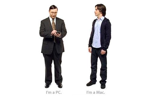 I'm a Mac. I'm a PC.