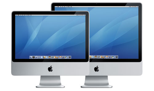 All new iMacs!
